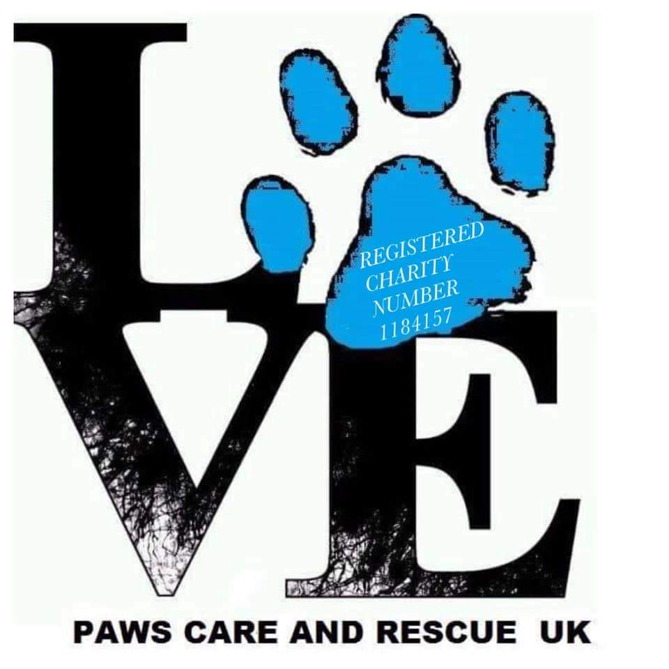 Paws Care and Rescue UK Logo