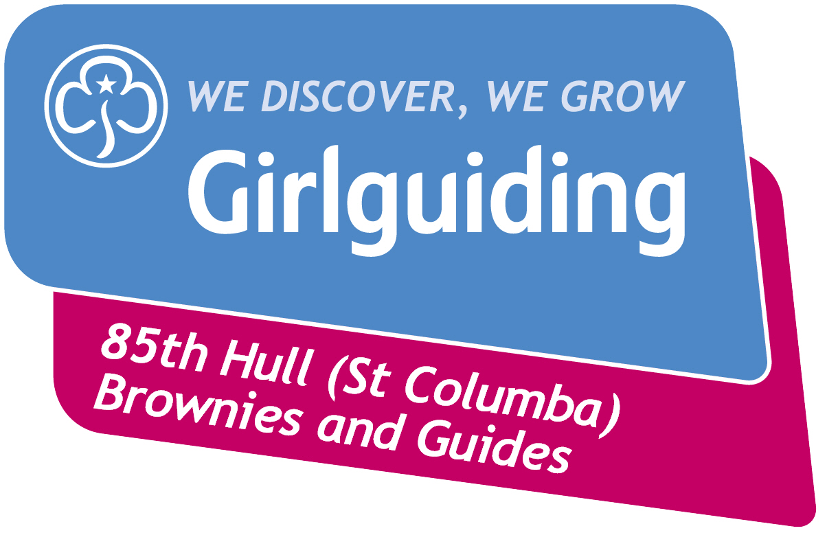 St Columba Brownies and Guides Logo