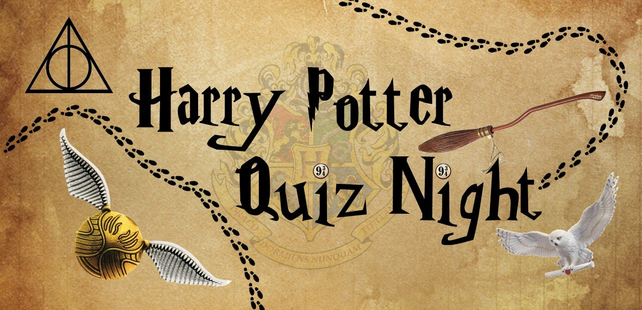 Harry Potter Quiz Night - Dove House Hospice Image